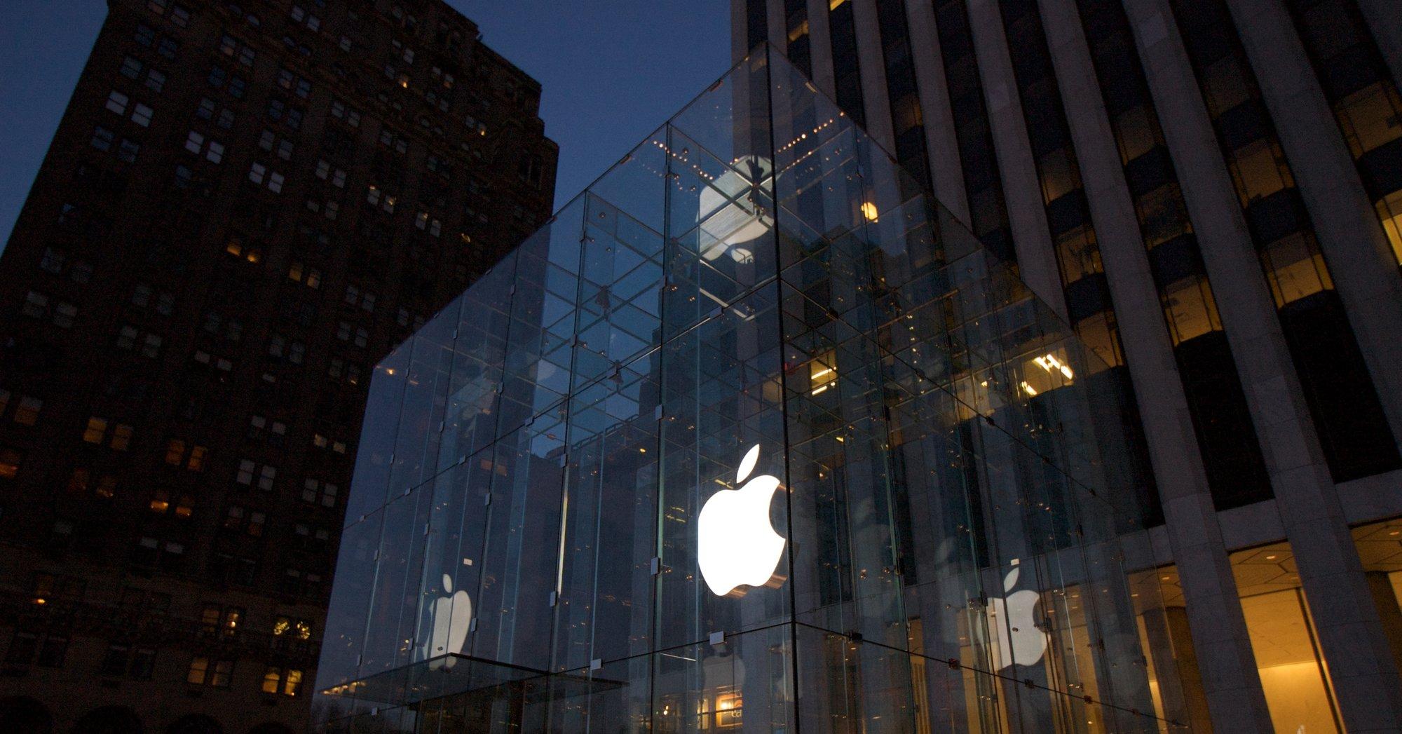 Riktig så flott som Apples Store på 5th Avenue i New York blir nok neppe avdelingen i Stockholm...