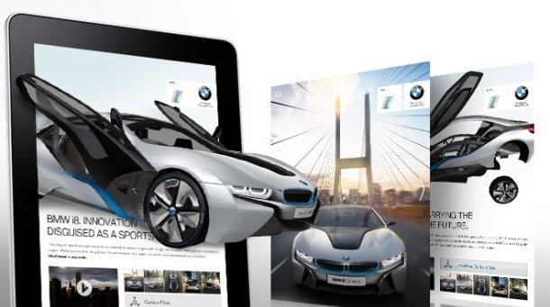 Slik ser selskapet Cooliris for seg 3D-annonser.