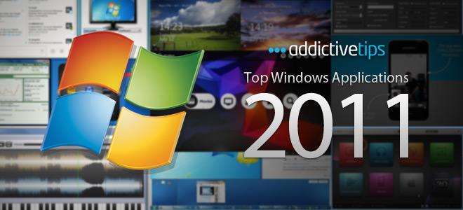 AddictiveTips har satt sammen den ultimate Windows-app-lista for 2011.