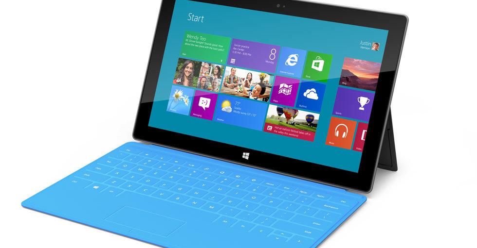 """Surface er ikke en direkte Kindle Fire 7""""-konkurrent, til det blir prisen endel høyere."""