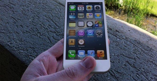 Mockup med oppløsningen det er funnet referanser til i iOS 6-koden.
