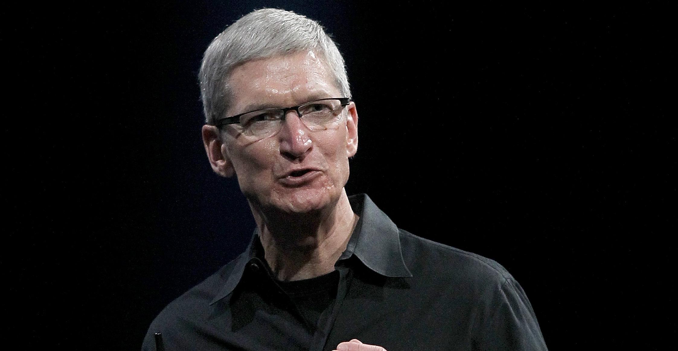 Klarer Apples toppsjef Tim Cook å levere noe i nærheten av de samme tallene de neste årene vil Apple overleve mange økonomiske kriser.