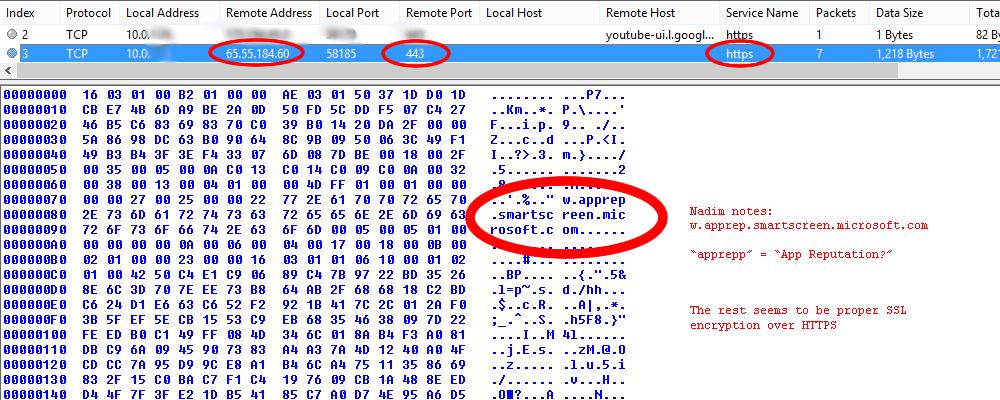Deler av informasjonen som sendes fra din Windows 8-maskin til Microsoft om apper, sendes ikke sikkert nok. Det hevder en sikkerhetsekspert.