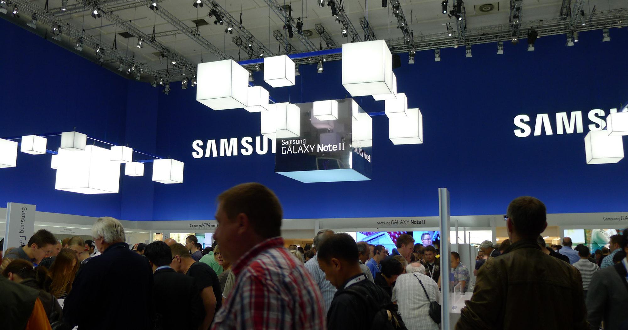 ATIV S glimret med sitt fravær på Samsungs IFA-stand. Årsaken er enkel: Den finnes ikke ennå...