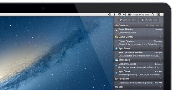 I oppdatering 10.8.2 er det lett å dele bilder til Facebook, og PowerNap er støttet i MacBook Air fra sent 2010.