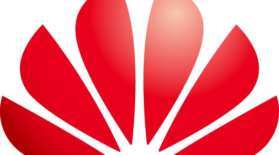 Dette er logoen til den kinesiske telegiganten Huawei. Nå blir de ansett for å være en risiko for USA.