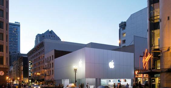 I Apple-butikken på Stockton Street i San Francisco kan du returnere din gamle iPad og få en helt ny gratis.