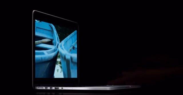 Apple har sendt ut den første reklamefilmen for MacBook Pro 13-tommer med Retina-skjerm.