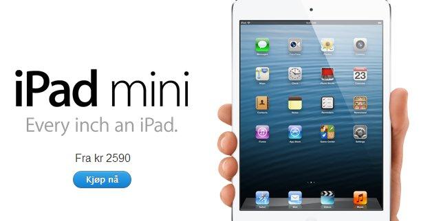 Denne er utsolgt i Statene. I dag startet forhåndsbestillingssalget i Norge på en rekke nye Apple-produkter.