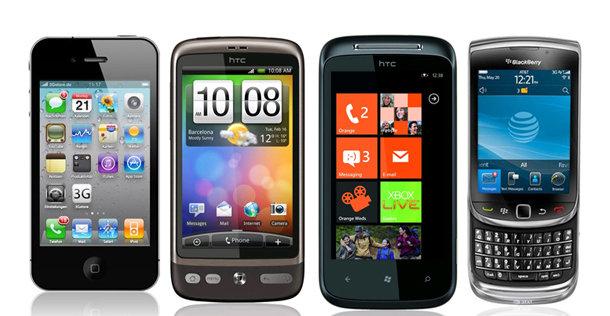 iOS, Android, Windows eller RIM? Ferske tall viser at Android nå er sterkere enn noensinne.