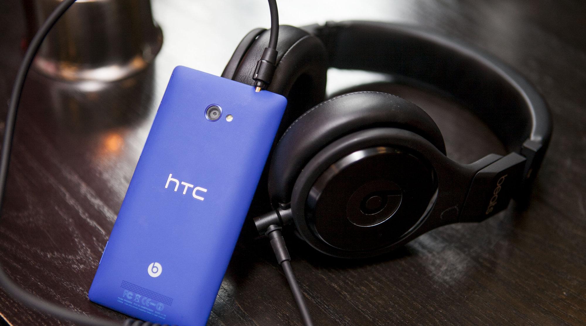 HTCs brennferske Windows Phone 8-telefon 8X kommer uten Spotify-mulighet. Årsaken er av mekanisk karakter, ifølge Spotify.