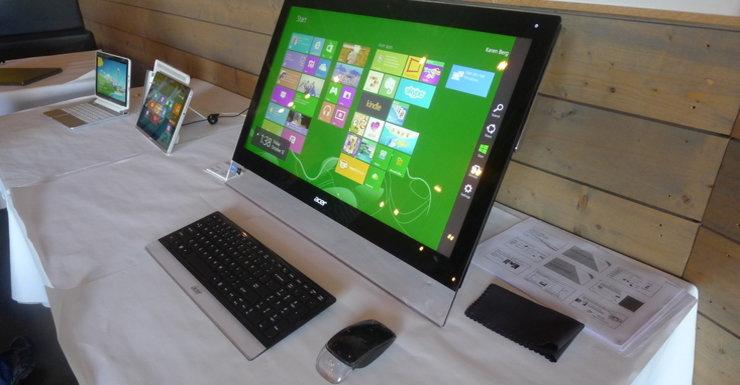"""Acers 27"""" alt-i-ett-maskin kommer med en haug tredjepartsprogramvare."""