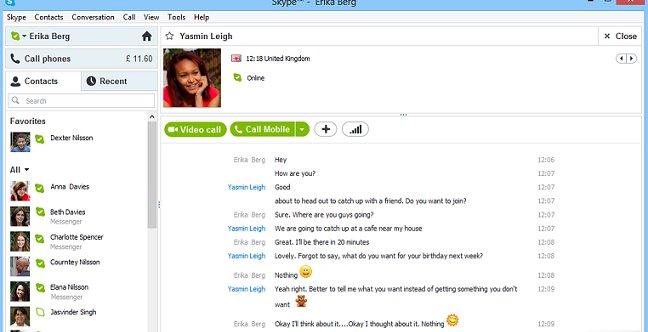 Fra mars neste år må du belage deg på bruke Skype for å prate med vennene dine.