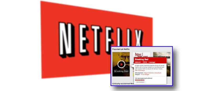 Netflix var det mest populære søkeordet i Norge i år.