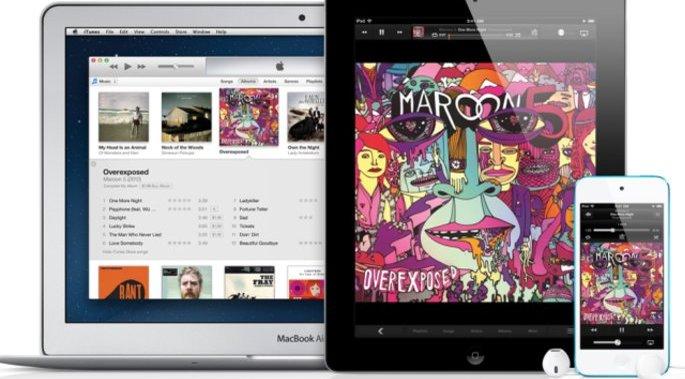 Mange koste seg med iTunes-musikk i jula.