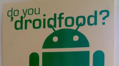 Dette er plakaten som oppfordrer Facebook-ansatte til å skifte mobil plattform.