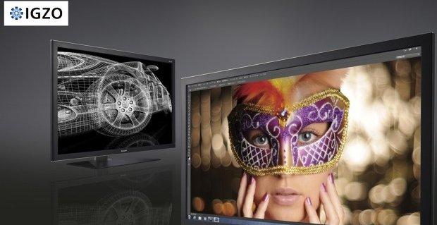 Av en eller annen grunn er det alltid maskeradeball når skjerm-produsentene reklamerer for sine nye produkter.