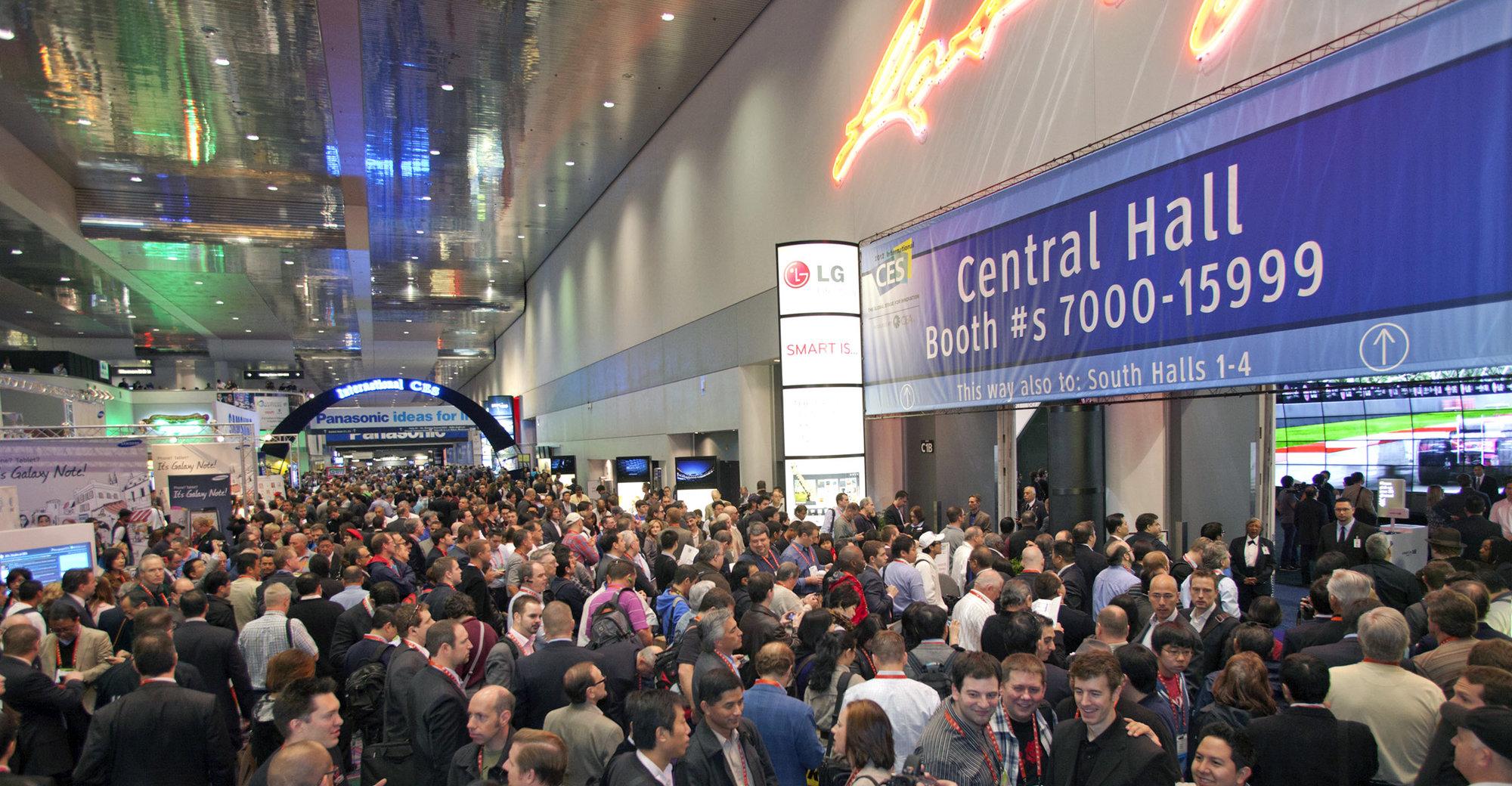 Det blir minst like folksomt på årets CES-messe i Las Vegas som i fjor.