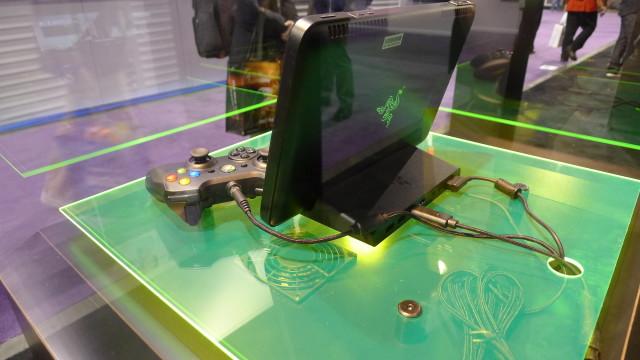 Razer Edge er ikke akkurat fjærlett, men den har mye kraft på innsiden.