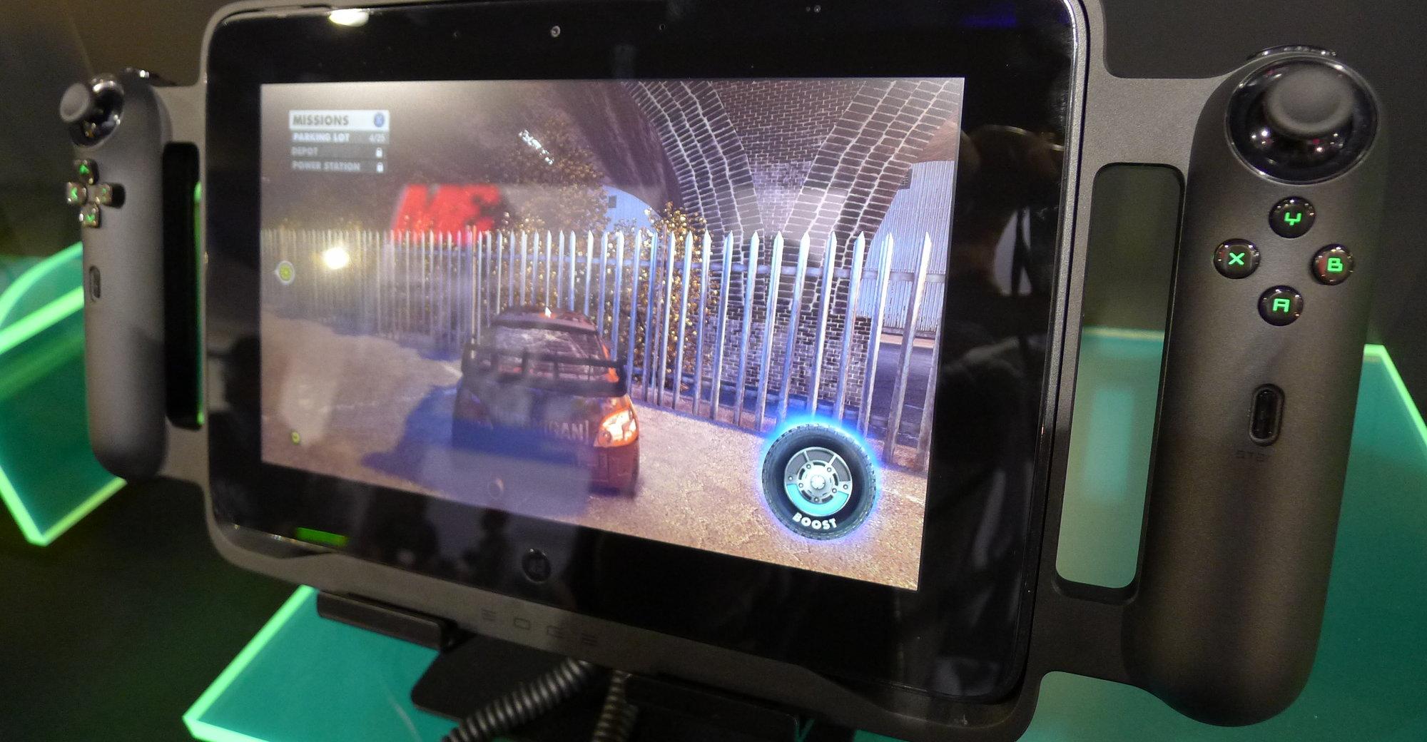 Razer Edge er et nettbrett, en konsoll og en PC i en og samme pakke. I Statene starter salget i løpet av første kvartal i år fra 5800 kroner for modellen med Core i5 CPU.