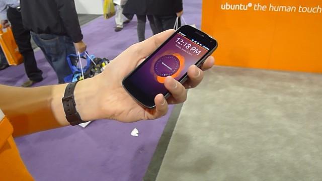 Lekre Ubuntu-OS på LGs Nexus 4.