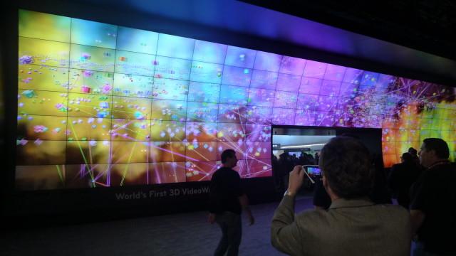 LGs gigantiske 3D-panel som gjorde oss nesten svimle.