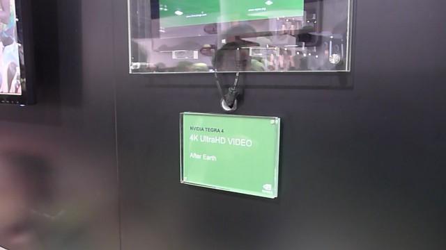 Tegra 4 spiller av 1080p og 4K samtidig.