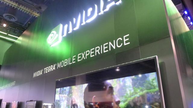 Nvidias stand på CES 2013.