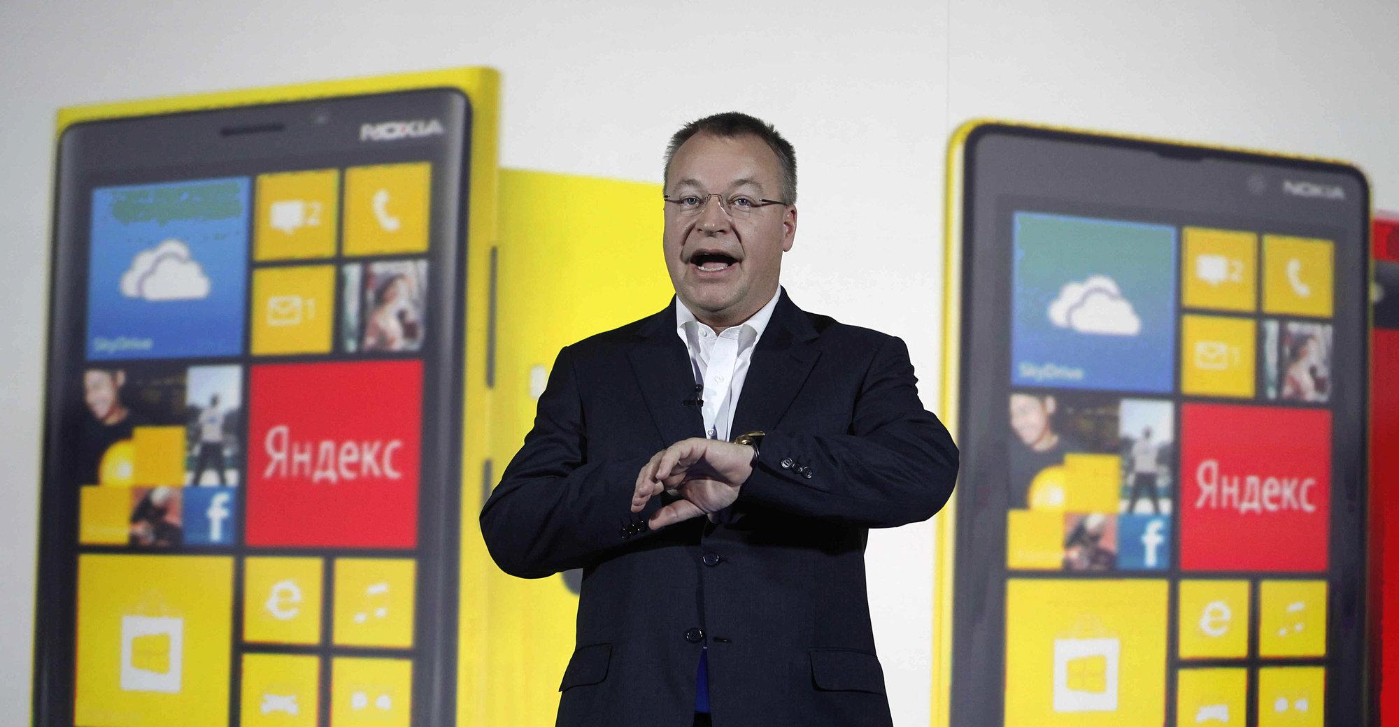 Nokias toppsjef Stephen Elop utelukker ikke at også Nokia kan bli medlem i den stadig større Android-familien.