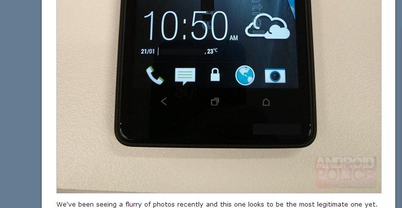 HTC M7? Godt mulig.