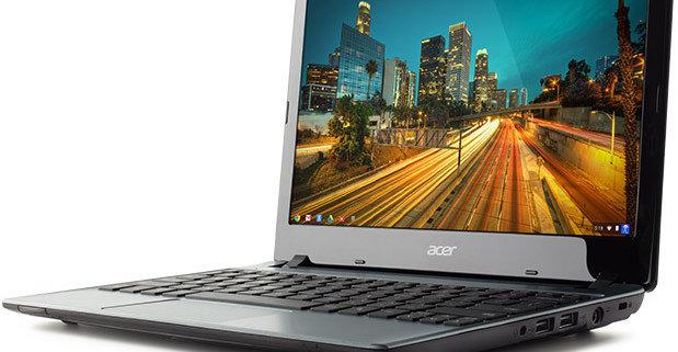 Acer peker på at Chromebook-salget går bra i USA, samtidig påpeker toppsjefen at Windows 8 ikke har bevist noe som helst, og i hvert fall ikke reddet det nedangående PC-salget.
